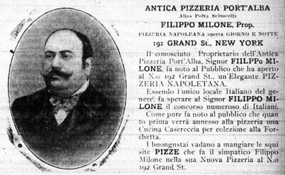 Pizza History facts